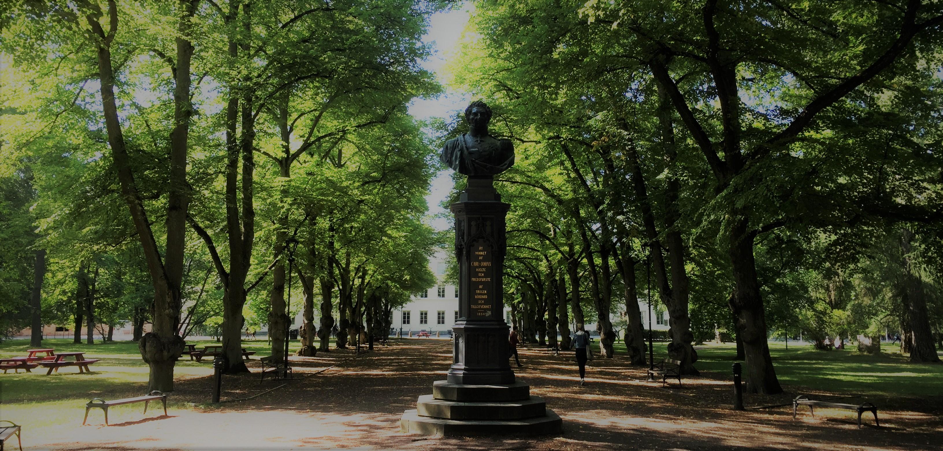 The university city, Uppsala!